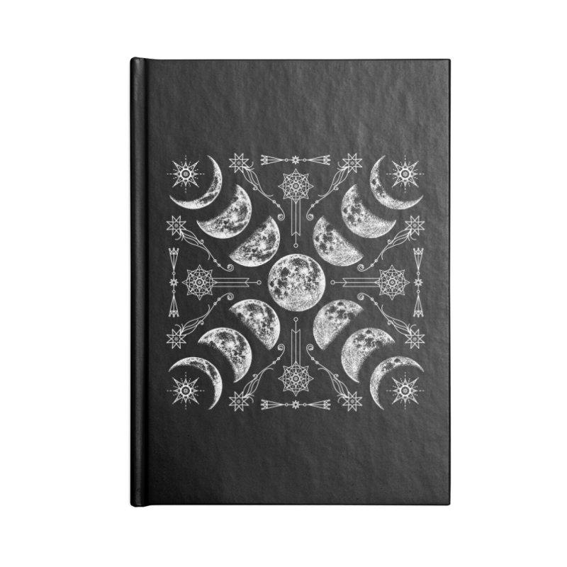 Lunar Chaos Accessories Lined Journal Notebook by Nikol King's Artist Shop