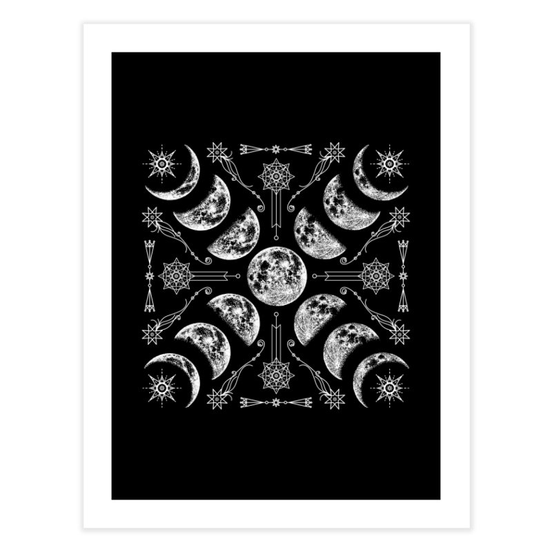 Lunar Chaos Home Fine Art Print by Niko L King's Artist Shop