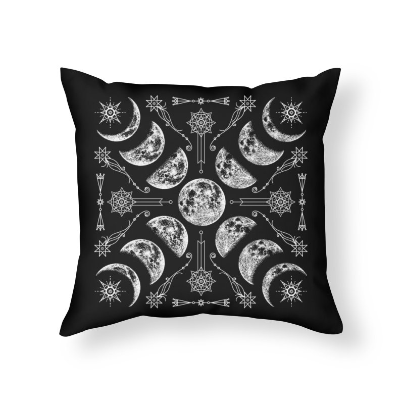 Lunar Chaos Home Throw Pillow by nikolking's Artist Shop