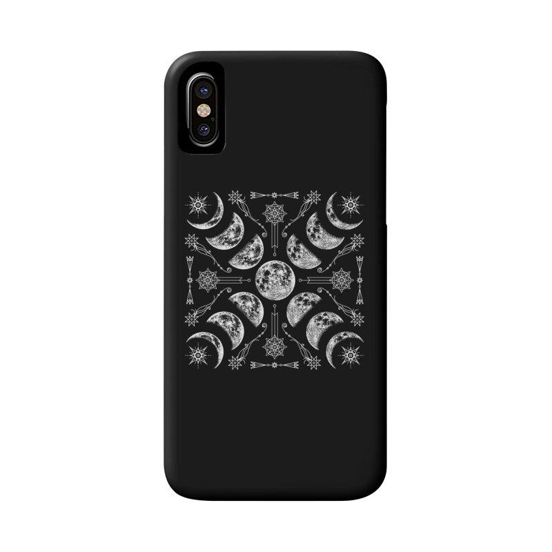 Lunar Chaos Accessories Phone Case by Niko L King's Artist Shop