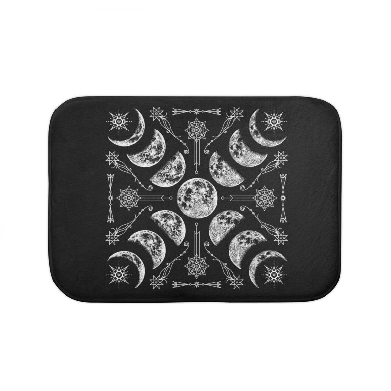 Lunar Chaos Home Bath Mat by nikolking's Artist Shop