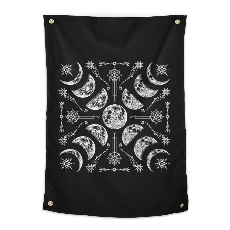 Lunar Chaos Home Tapestry by Niko L King's Artist Shop
