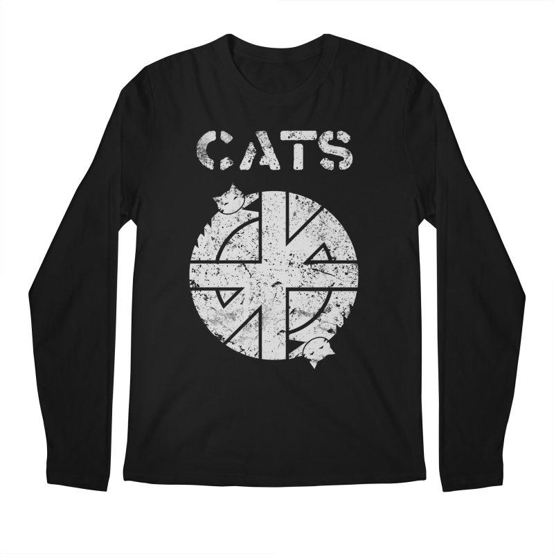 CRASS CATS Men's Regular Longsleeve T-Shirt by Nikol King's Artist Shop