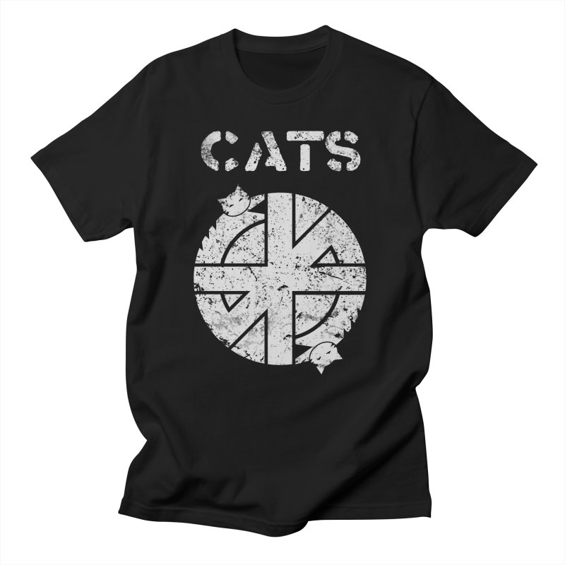 CRASS CATS Women's Regular Unisex T-Shirt by Nikol King's Artist Shop