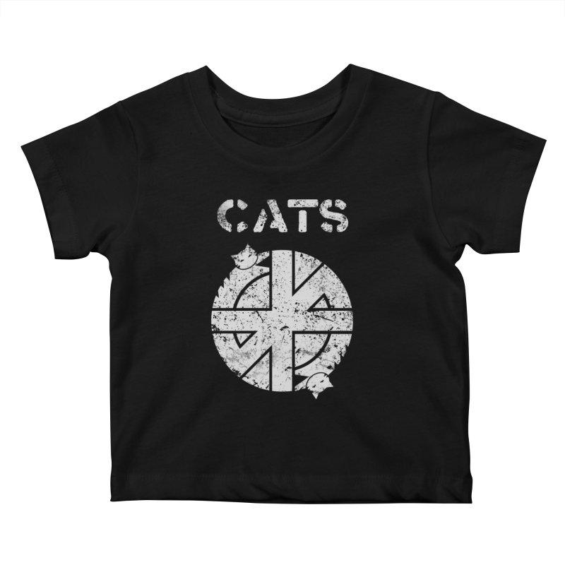 CRASS CATS Kids Baby T-Shirt by Nikol King's Artist Shop