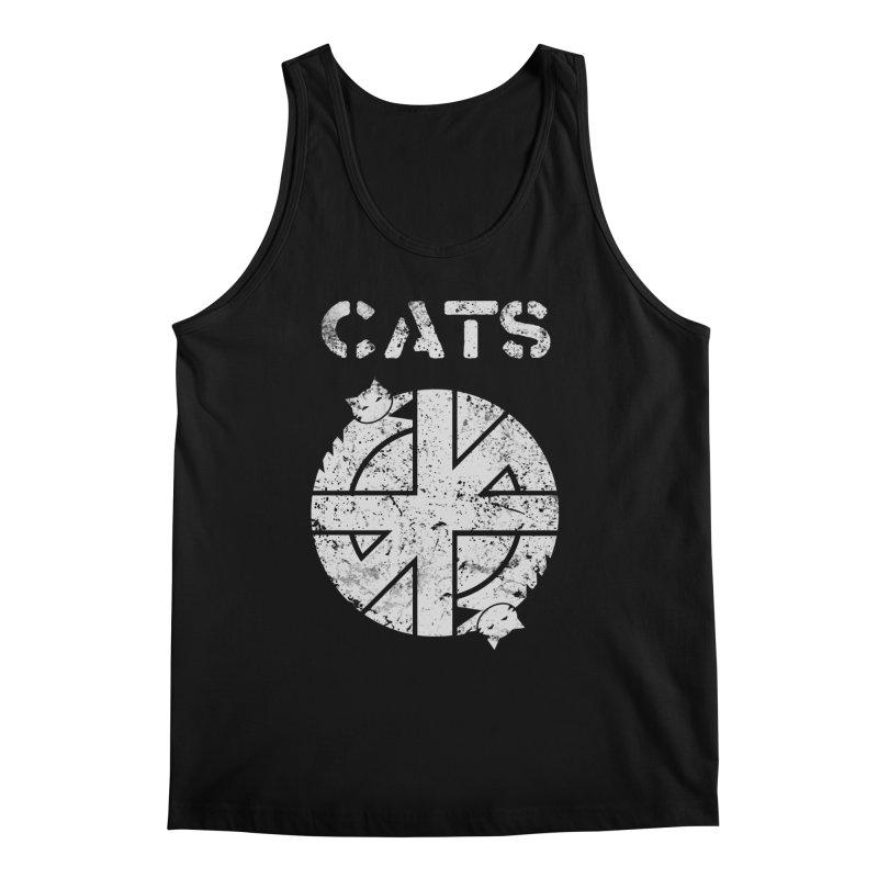 CRASS CATS Men's Regular Tank by Nikol King's Artist Shop