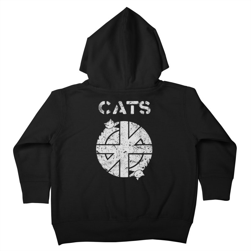 CRASS CATS Kids Toddler Zip-Up Hoody by nikolking's Artist Shop