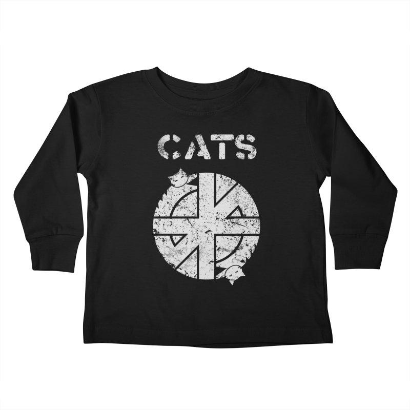 CRASS CATS Kids Toddler Longsleeve T-Shirt by Niko L King's Artist Shop