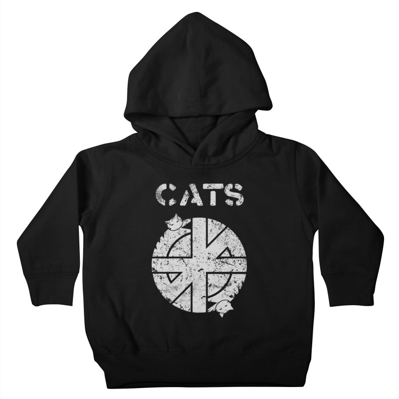CRASS CATS Kids Toddler Pullover Hoody by Nikol King's Artist Shop