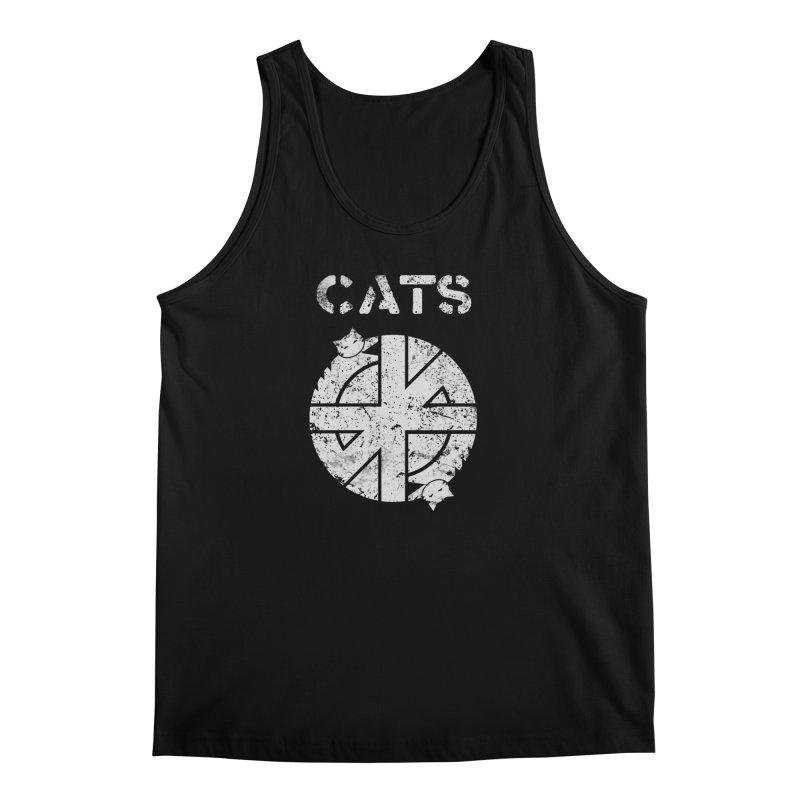 CRASS CATS Men's Tank by nikolking's Artist Shop
