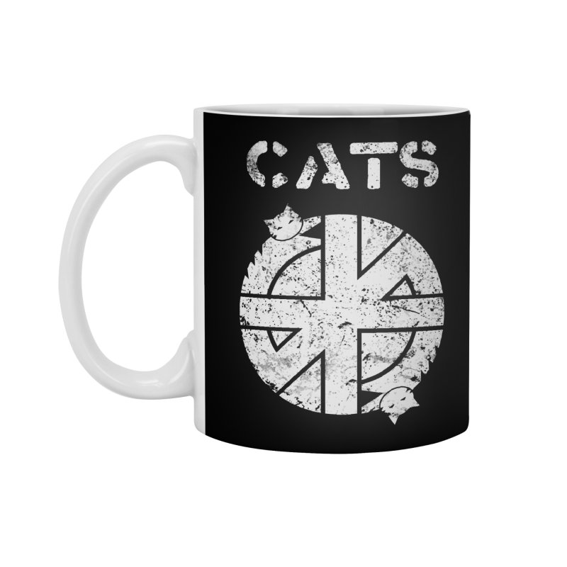 CRASS CATS Accessories Mug by Niko L King's Artist Shop