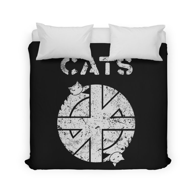 CRASS CATS Home Duvet by nikolking's Artist Shop