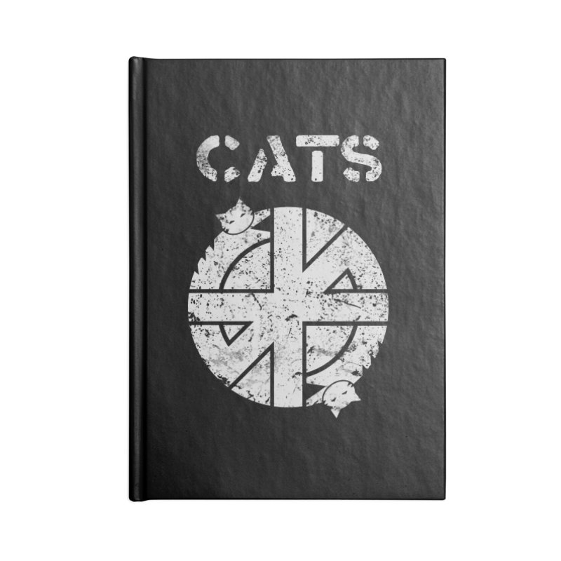 CRASS CATS Accessories Notebook by Niko L King's Artist Shop