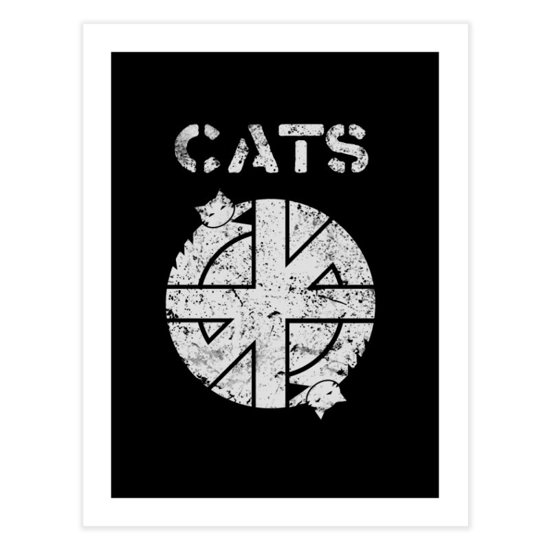 CRASS CATS Home Fine Art Print by Niko L King's Artist Shop