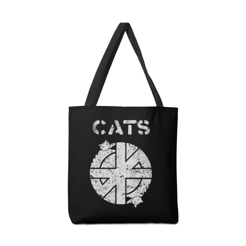 CRASS CATS Accessories Bag by nikolking's Artist Shop