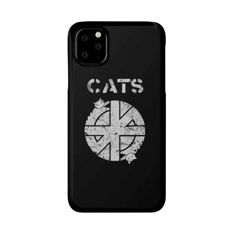 CRASS CATS Accessories Phone Case by Nikol King's Artist Shop