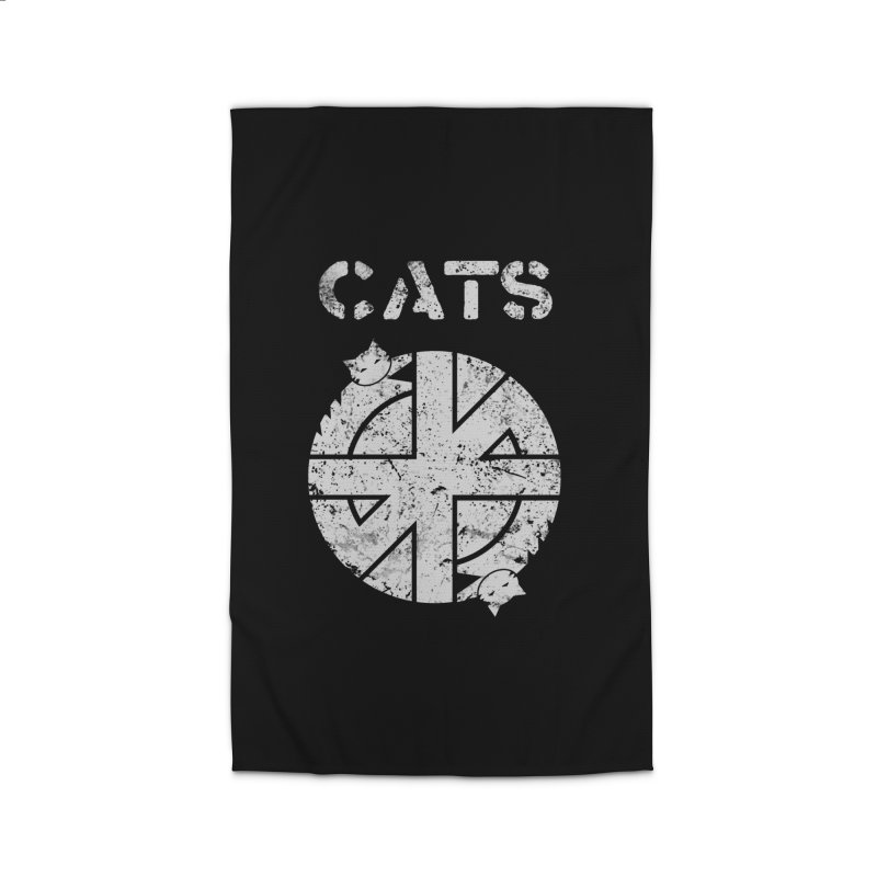 CRASS CATS Home Rug by Nikol King's Artist Shop