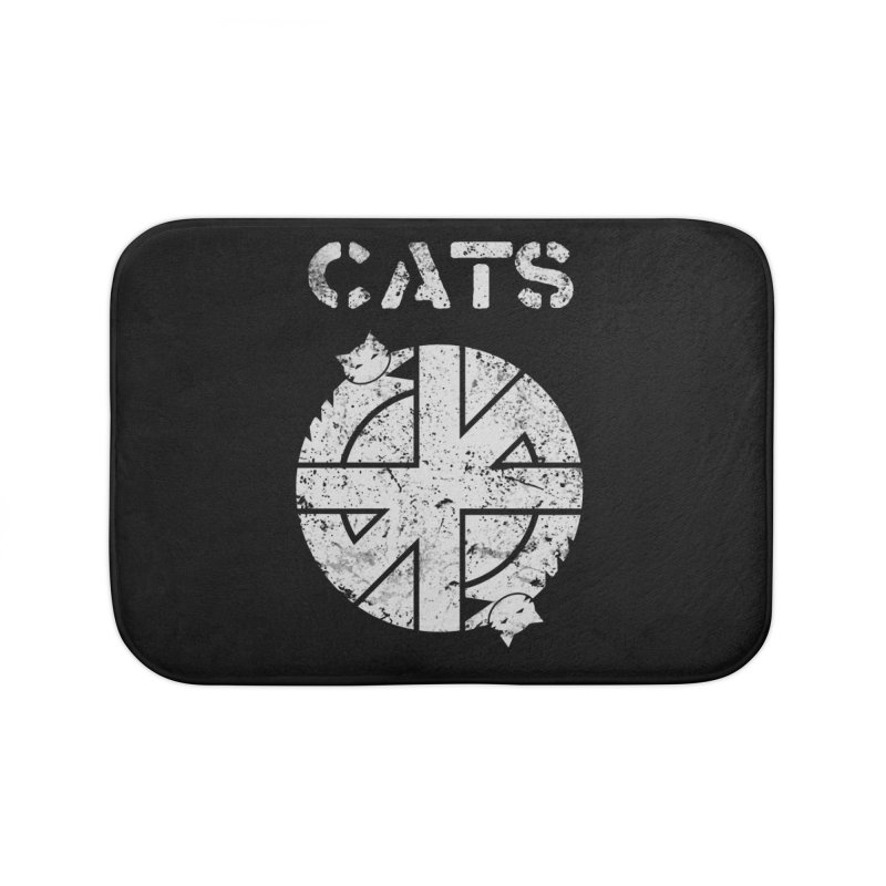 CRASS CATS Home Bath Mat by Nikol King's Artist Shop