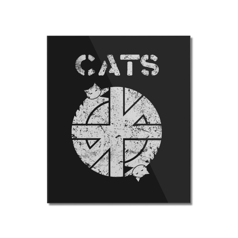 CRASS CATS Home Mounted Acrylic Print by Nikol King's Artist Shop