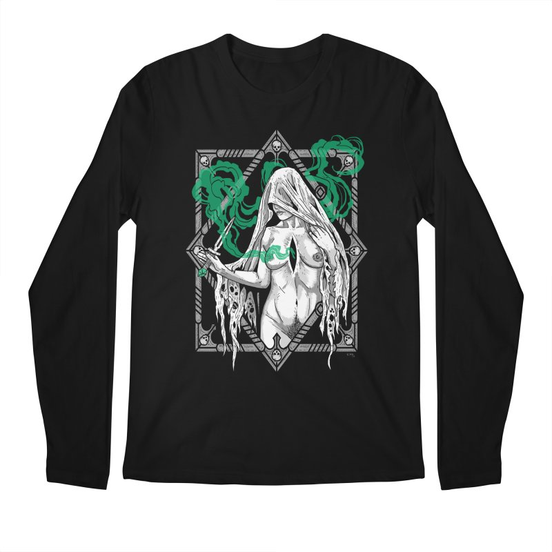 Melancholy Men's Regular Longsleeve T-Shirt by Nikol King's Artist Shop