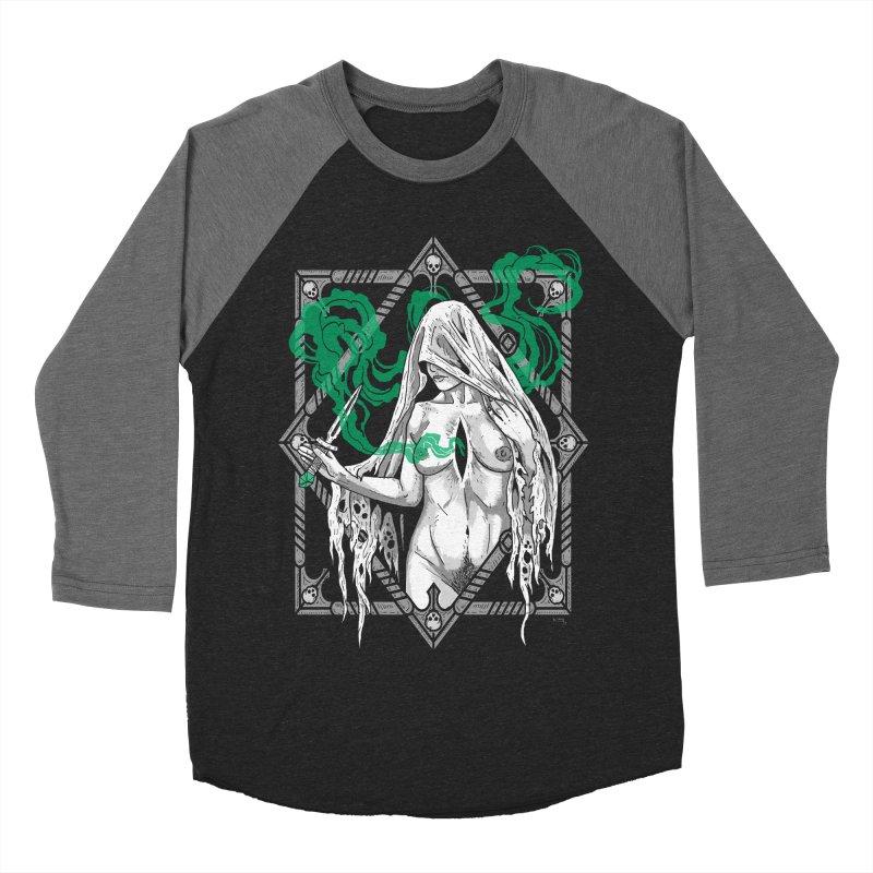 Melancholy Women's Baseball Triblend Longsleeve T-Shirt by Nikol King's Artist Shop