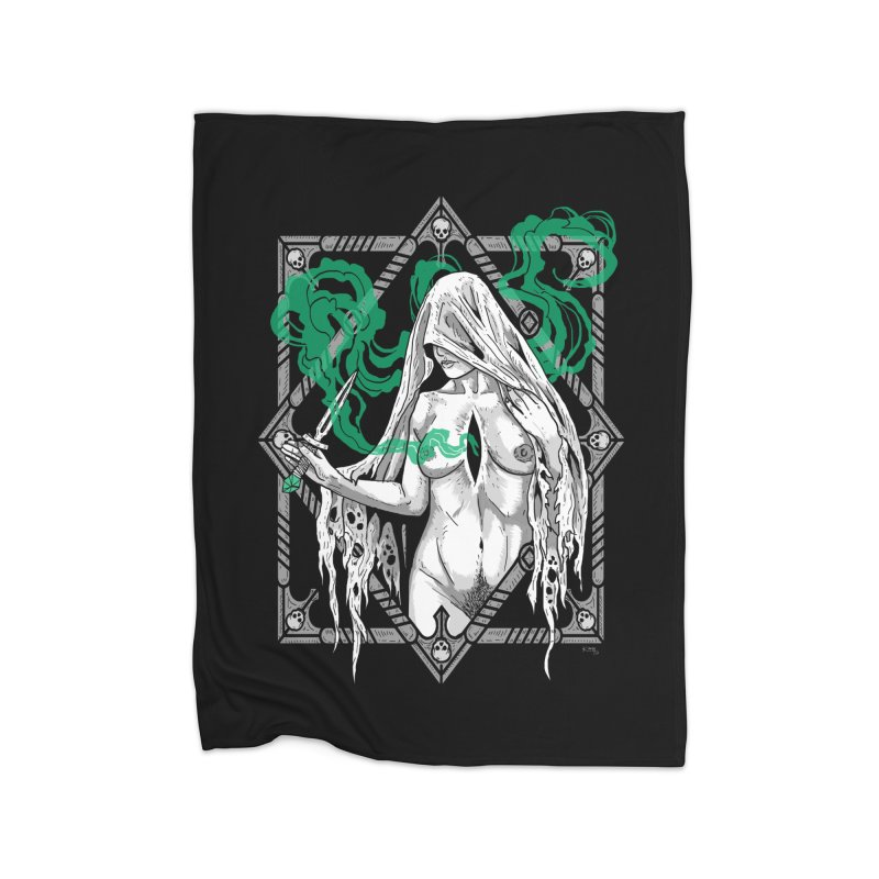 Melancholy Home Blanket by nikolking's Artist Shop