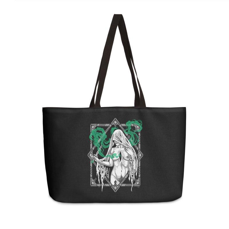 Melancholy Accessories Weekender Bag Bag by Nikol King's Artist Shop