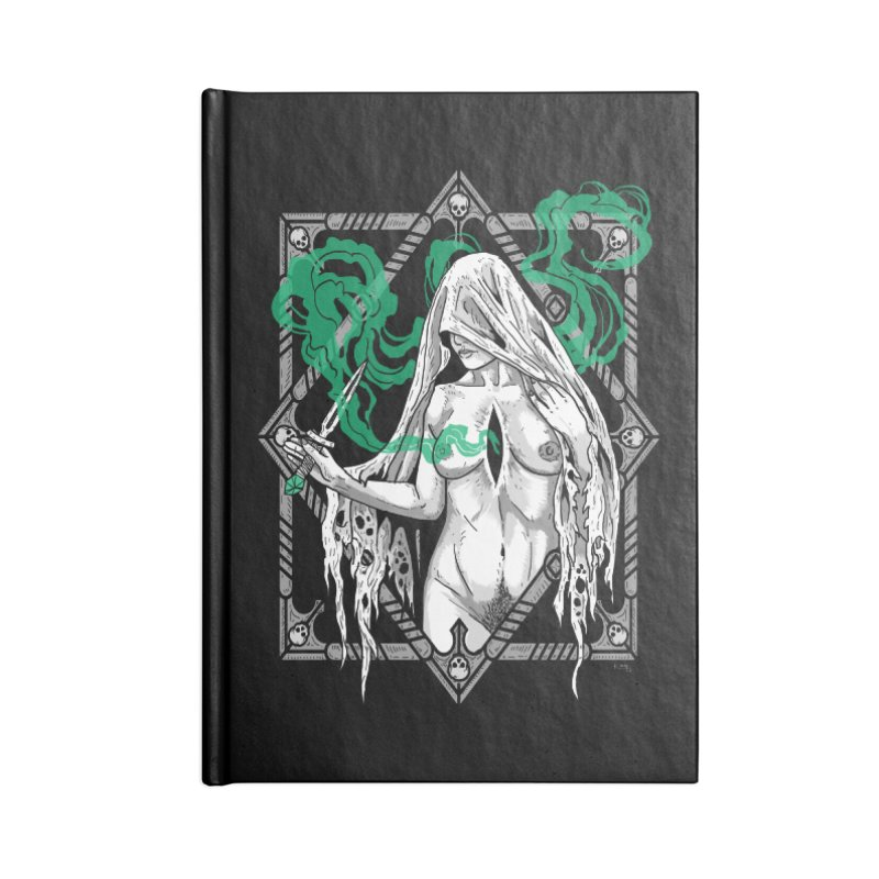 Melancholy Accessories Blank Journal Notebook by Nikol King's Artist Shop