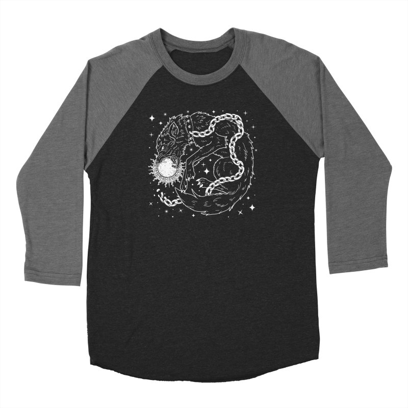 Fenrir Women's Baseball Triblend Longsleeve T-Shirt by Nikol King's Artist Shop