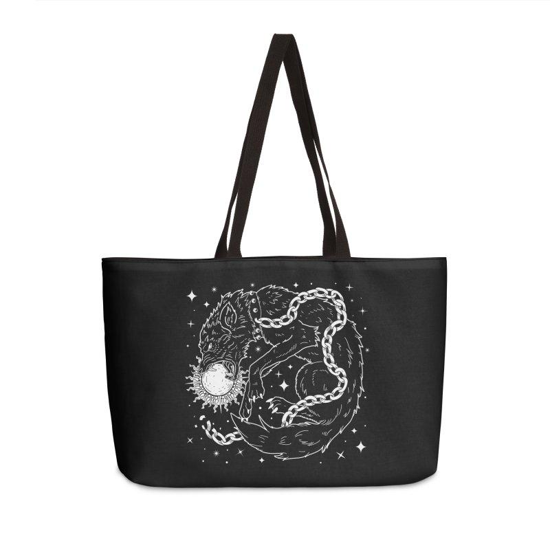 Fenrir Accessories Weekender Bag Bag by Nikol King's Artist Shop