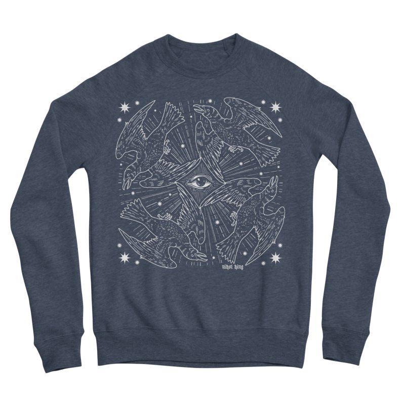 PROVIDENCE Men's Sponge Fleece Sweatshirt by Nikol King's Artist Shop