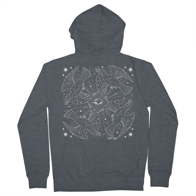 PROVIDENCE Men's French Terry Zip-Up Hoody by Nikol King's Artist Shop