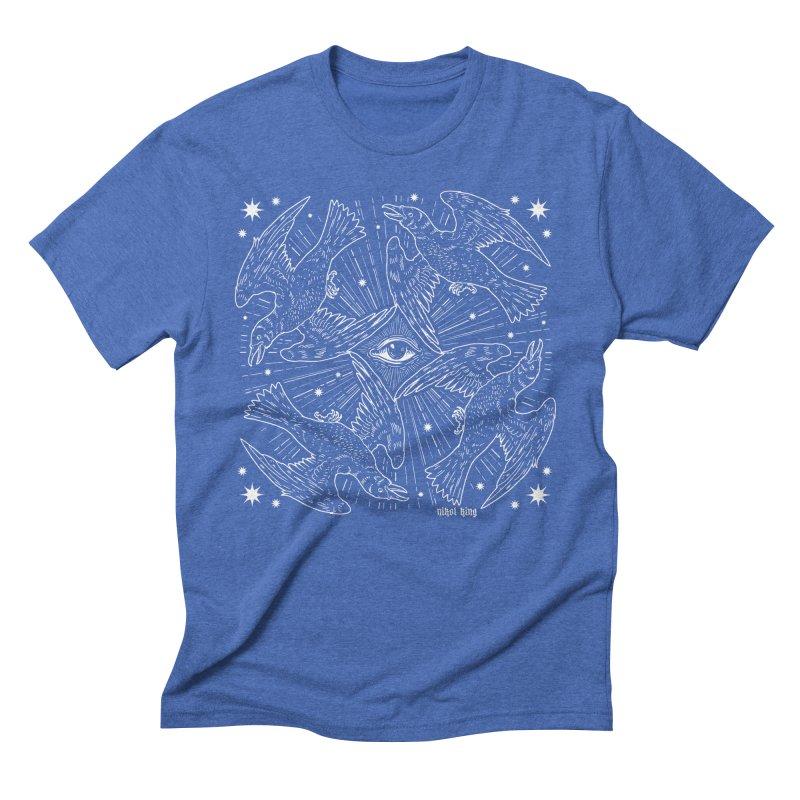 PROVIDENCE Men's Triblend T-Shirt by nikolking's Artist Shop