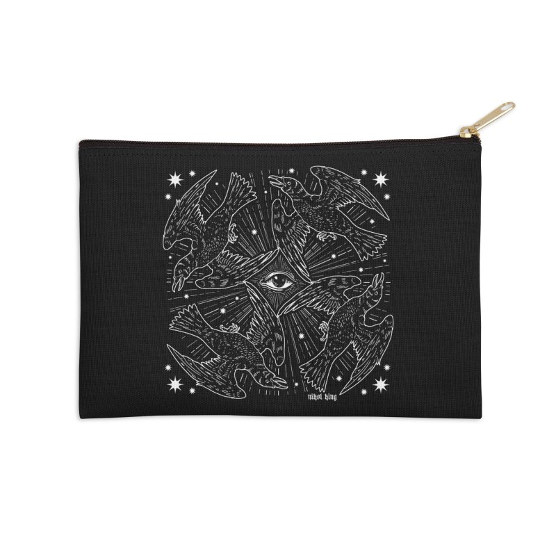 PROVIDENCE Accessories Zip Pouch by Niko L King's Artist Shop