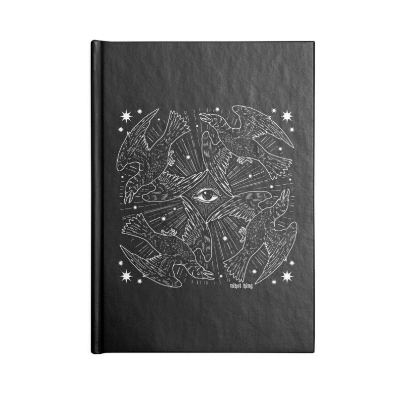 PROVIDENCE Accessories Lined Journal Notebook by Nikol King's Artist Shop