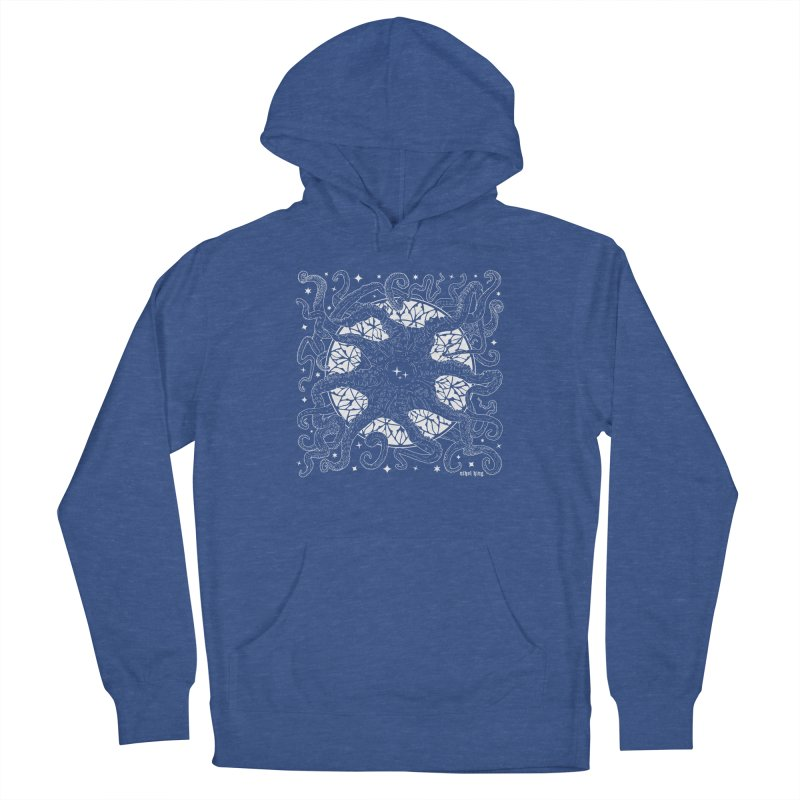 STAR SPAWN Men's French Terry Pullover Hoody by Nikol King's Artist Shop