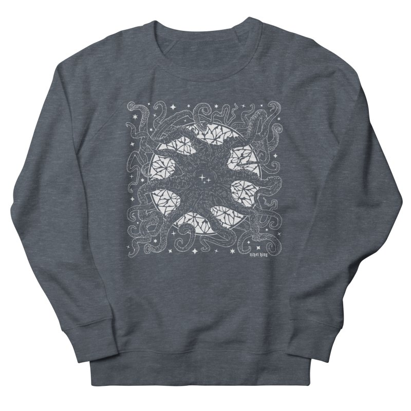 STAR SPAWN Women's French Terry Sweatshirt by Nikol King's Artist Shop