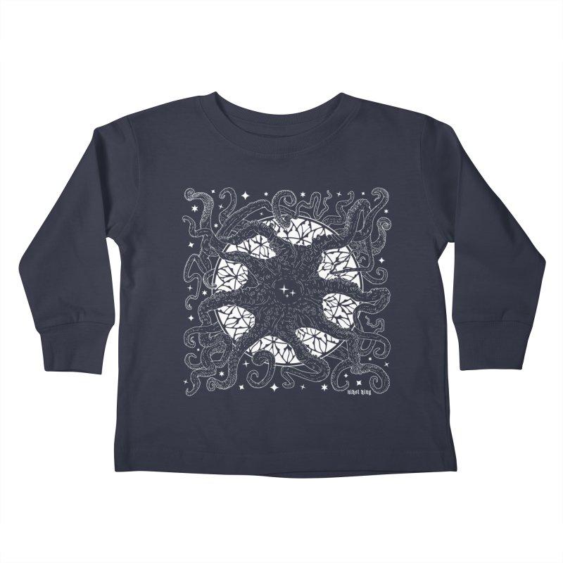 STAR SPAWN Kids Toddler Longsleeve T-Shirt by Nikol King's Artist Shop