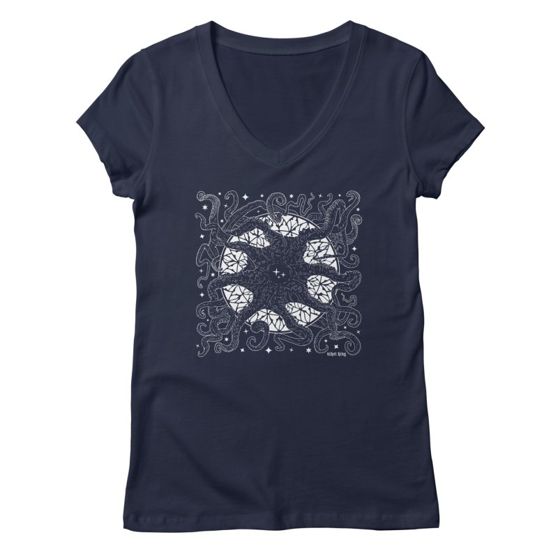 STAR SPAWN Women's Regular V-Neck by Nikol King's Artist Shop