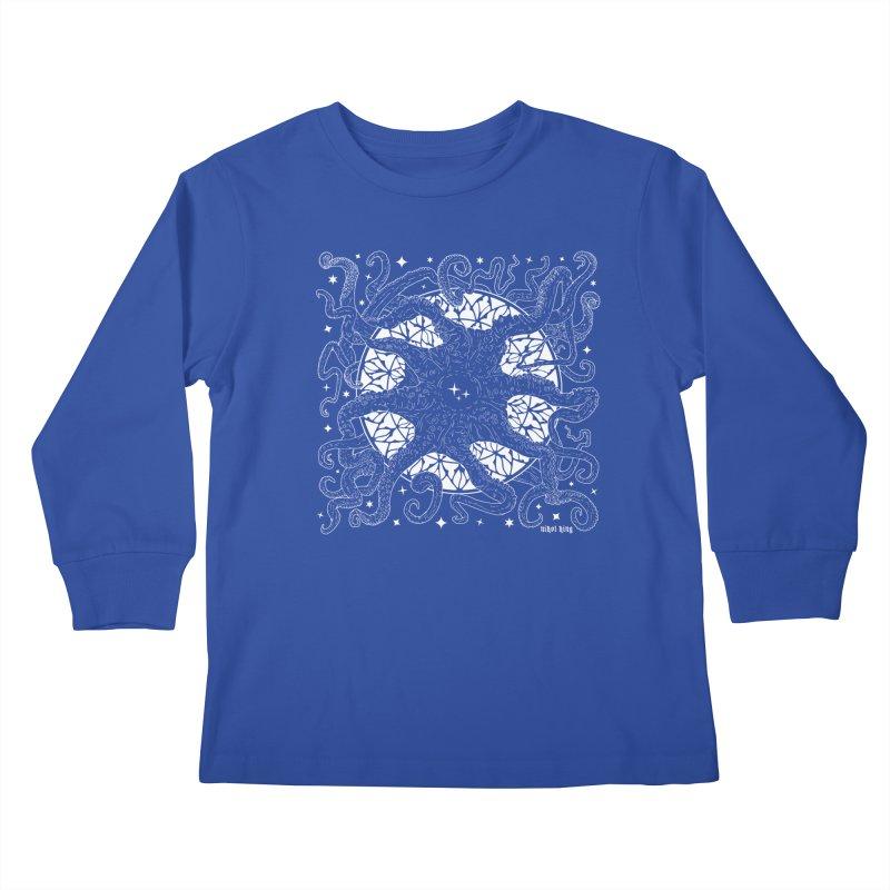 STAR SPAWN Kids Longsleeve T-Shirt by Niko L King's Artist Shop