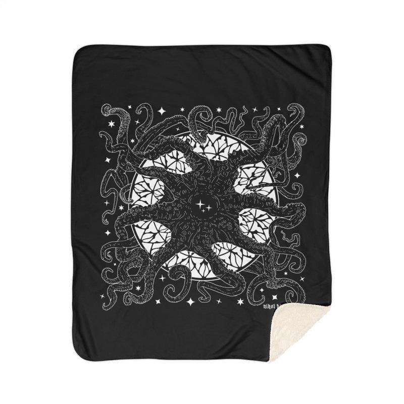 STAR SPAWN Home Sherpa Blanket Blanket by Nikol King's Artist Shop