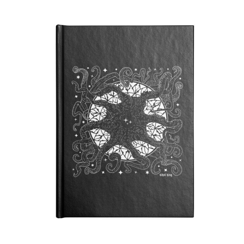 STAR SPAWN Accessories Lined Journal Notebook by Nikol King's Artist Shop