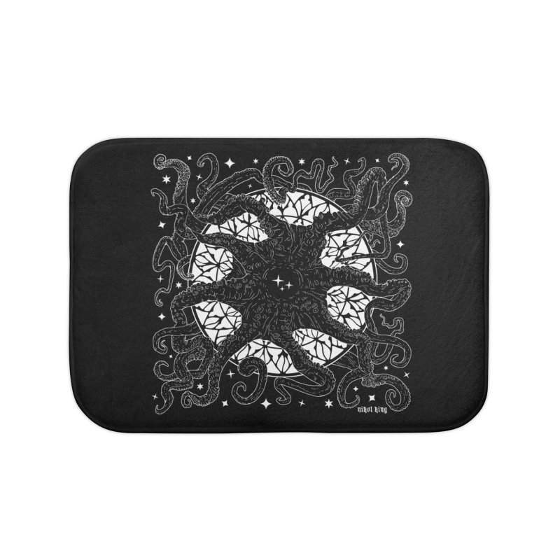 STAR SPAWN Home Bath Mat by Nikol King's Artist Shop