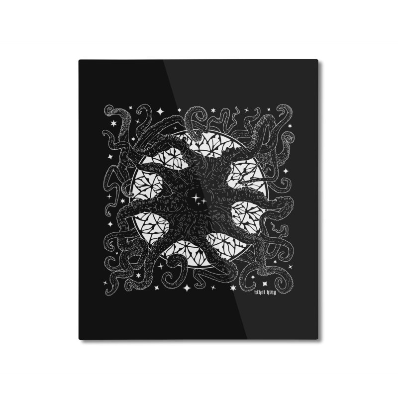 STAR SPAWN Home Mounted Aluminum Print by Nikol King's Artist Shop
