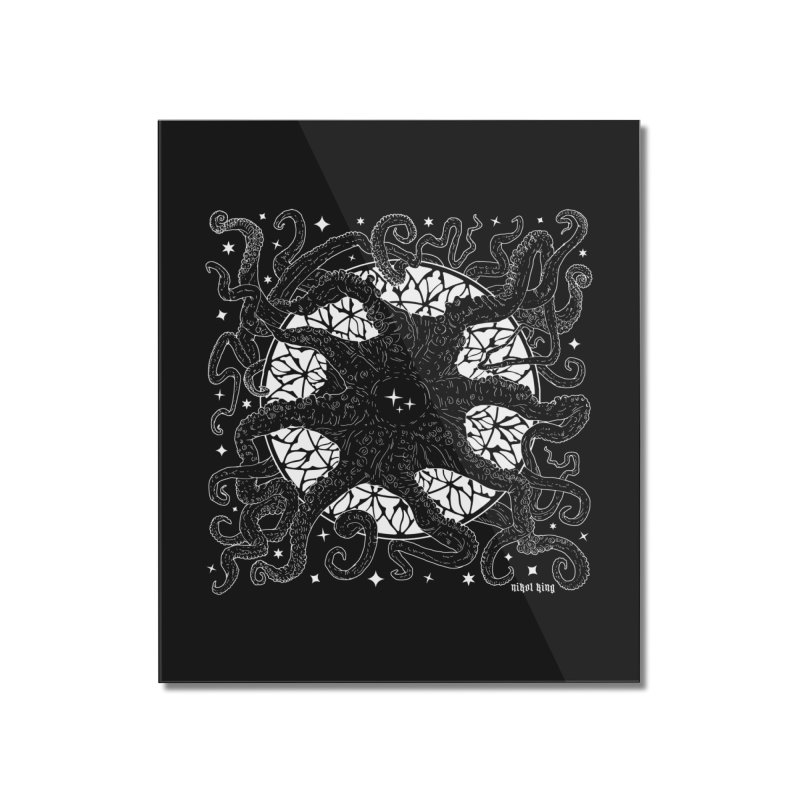 STAR SPAWN Home Mounted Acrylic Print by Nikol King's Artist Shop