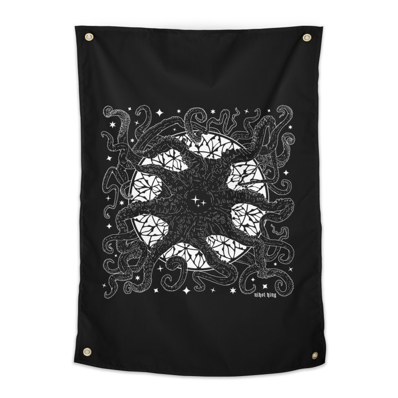 STAR SPAWN Home Tapestry by Niko L King's Artist Shop