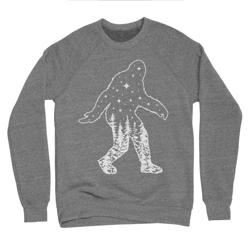 STAR SQUATCH Women's Sponge Fleece Sweatshirt by Nikol King's Artist Shop