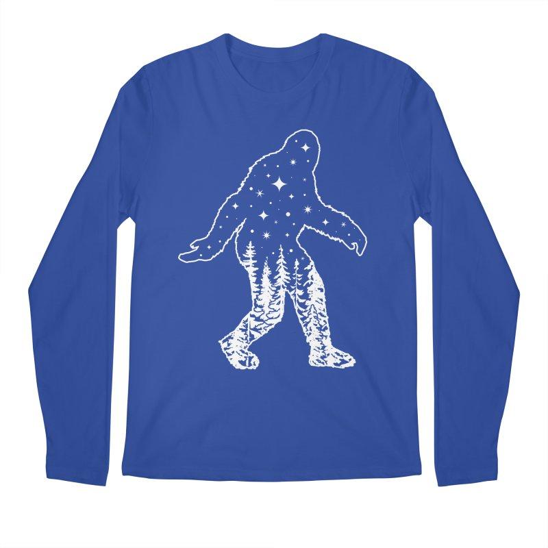 STAR SQUATCH Men's Regular Longsleeve T-Shirt by Nikol King's Artist Shop