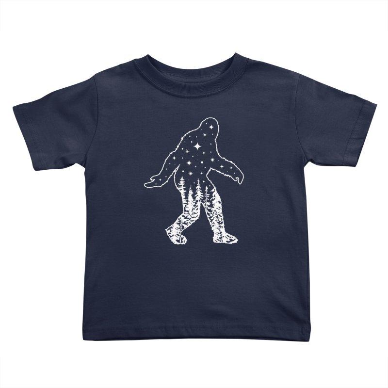 STAR SQUATCH Kids Toddler T-Shirt by nikolking's Artist Shop