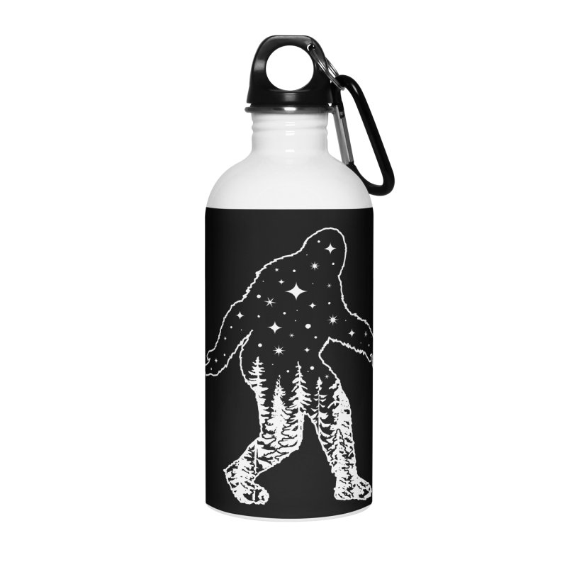 STAR SQUATCH Accessories Water Bottle by Niko L King's Artist Shop